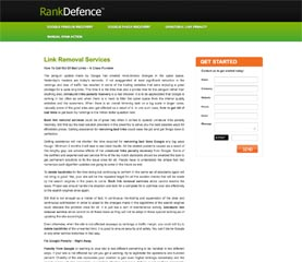 RankDefence - Delete BAD Backlinks | Unnatural Link Removal Services